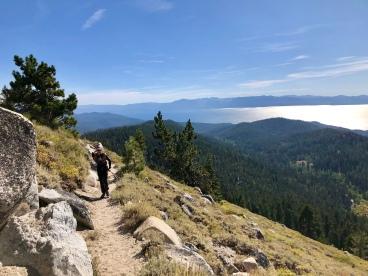 Me on the climb